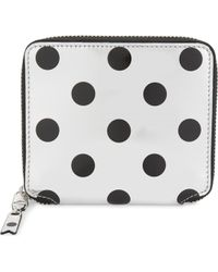 Play Comme des Garçons - Mirrored Leather Wallet - Lyst