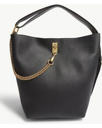 Givenchy - Gv3 Grained Leather Bucket Bag - Lyst