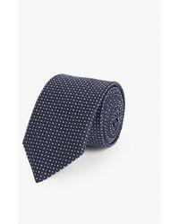 BOSS Silk Tie - Blue