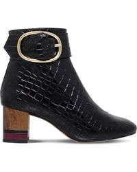 KG by Kurt Geiger - Ringo Patent Ankle Boot - Lyst