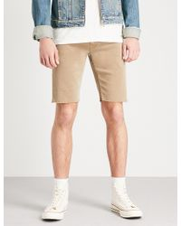 PAIGE - Federal Transcend Straight Shorts - Lyst