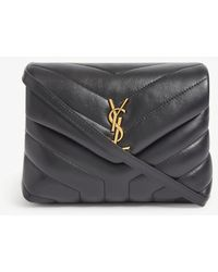 Saint Laurent Loulou Toy Leather Cross-body Bag - Black