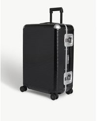 Fpm Fabbrica Pelletterie Milano Bank Light Spinner Suitcase - Black