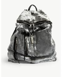Rick Owens Midi Megaduffle Backpack - Black