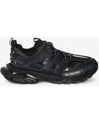 Balenciaga - Black Track Trainers - Lyst