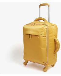 Lipault Originale Plume Four-wheel Cabin Suitcase 55cm - Yellow