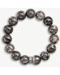 Thomas Sabo - Jaspar Beaded Power Bracelet - Lyst