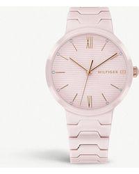 Tommy Hilfiger - 1781957 Avery Ceramic Watch - Lyst