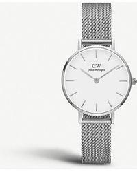 Daniel Wellington Petite Sterling Stainless Steel Watch 28mm - Metallic