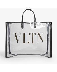 Valentino Vltn Transparent Tote - Multicolor