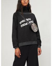 Wildfox - Slogan-print Jersey Sweatshirt - Lyst