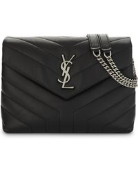 Saint Laurent - Monogram Leather Cross-body Bag - Lyst
