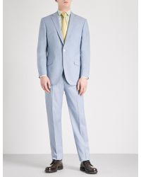Richard James - Tailored-fit Wool And Mohair-blend Suit - Lyst