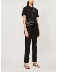 GOOD AMERICAN Waist-tie Cotton-twill Jumpsuit - Black
