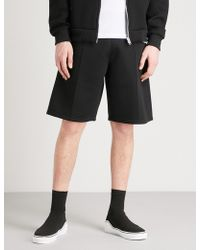 Givenchy - Stitched-detail Neoprene Shorts - Lyst