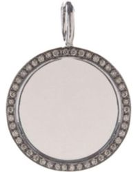 Annoushka - Mythology 18ct White-gold And Pavé-diamond Pendant - Lyst