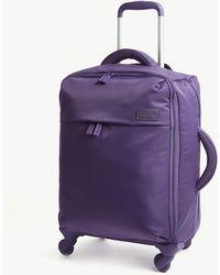 Lipault Originale Plume Four-wheel Cabin Suitcase 55cm - Purple