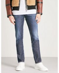 DSquared² - Faded-wash Slim-fit Skinny Jeans - Lyst
