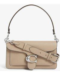 COACH Tabby Leather Shoulder Bag - Multicolor