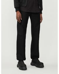 The Soloist High-rise Tapered Cotton-blend Pants - Black