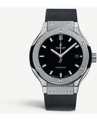 Hublot Classic Fusion 582.nx.1170.rx Titanium Watch - Black