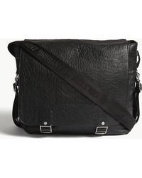 Zadig & Voltaire Ready Made Bubble Leather Hobo Bag - Black