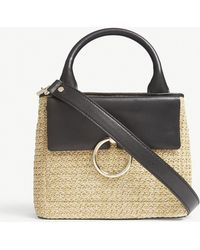 Claudie Pierlot | Anouck Small Woven Tote | Lyst