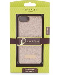 Ted Baker Sparkls Glitter Iphone Case - Multicolor