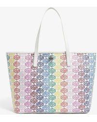 Kurt Geiger Richmond Monogram Shopper Bag - Multicolor