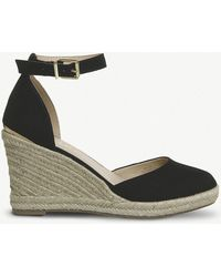 a873ef7d37fe ... Closed Toe Espadrille Wedge - Lyst. Office - Marsha Suedette Espadrilles  - Lyst