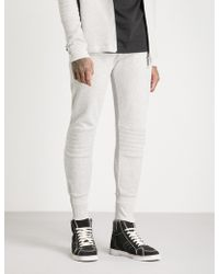 Blood Brother - Stand Panelled Knitted Jogging Bottoms - Lyst