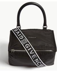 Givenchy - Pandora Small Nylon Messenger Bag - Lyst