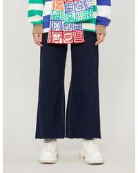 Benetton Wide-leg Denim Jeans - Blue