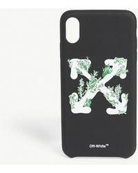 Off-White c/o Virgil Abloh Coral Arrow Iphone Xs Max Case - Black
