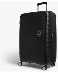 American Tourister Soundbox Expandable Four-wheel Suitcase 77cm - Black