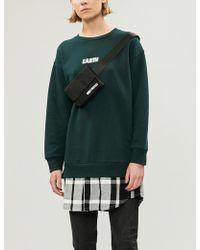 Chocoolate - Contrast-panel Cotton-jersey Sweatshirt - Lyst