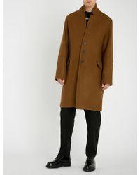 Isabel Benenato - Seam-detailed Wool Coat - Lyst