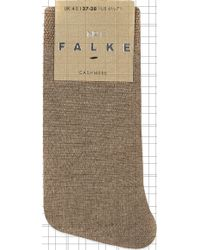 Falke No 1 Cashmere Sock - Natural