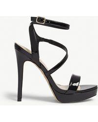ALDO Vigodia Leather Flat Sandals - Brown