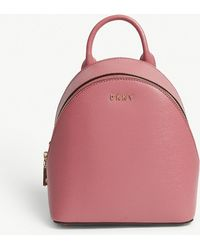 DKNY - Bryant Park Mini Leather Backpack - Lyst