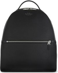 Smythson - Burlington Small Grained Leather Backpack - Lyst