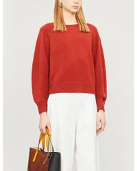 Vince - Dolman Sleeve Wool And Cashmere-blend Jumper - Lyst