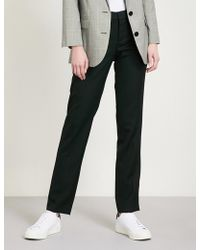 Zadig & Voltaire - Prune Tapered Wool Trousers - Lyst