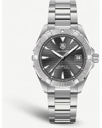 Tag Heuer Way2113.ba0910 Aquaracer Calibre Stainless Steel Watch - Black
