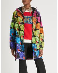 Gucci - Panther Face Shell Coat - Lyst