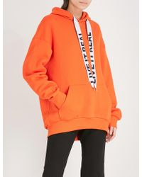 Izzue - Slogan Cotton-blend Hoody - Lyst