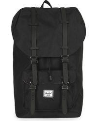 Herschel Supply Co. Mens Black Little America Backpack