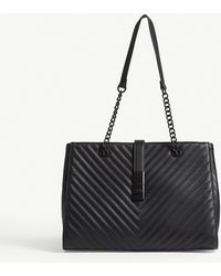 ALDO - Oxdrift Chevron Quilted Faux-leather Tote - Lyst
