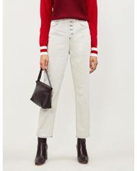 Claudie Pierlot - Persan Straight High-rise Jeans - Lyst