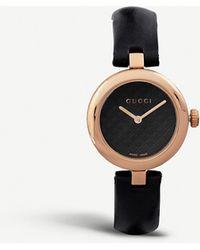 Gucci Ya141401 Diamantissima Stainless Steel Watch - Metallic